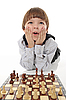ID 3021614 | Schoolboy playing chess | High resolution stock photo | CLIPARTO