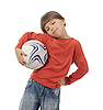 ID 3021619 | Cheerful boy with soccer ball | High resolution stock photo | CLIPARTO