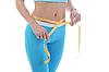 ID 3021657 | 젊은 체육 여성의 허리를 측정합니다. | 높은 해상도 사진 | CLIPARTO