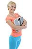 ID 3021664 | Schlanke Frau mit Waagen | Foto mit hoher Auflösung | CLIPARTO