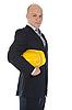 건설 헬멧 사업가 | Stock Foto