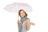Beautiful woman with umbrella | Stock Foto