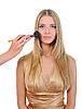 ID 3021877 | Makijaż dla młodych blondynka | Foto stockowe wysokiej rozdzielczości | KLIPARTO