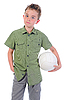 ID 3021938 | Young football player | High resolution stock photo | CLIPARTO