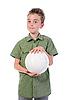 Фото 300 DPI: маленький футболист
