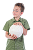 Фото 300 DPI: мальчик футболист
