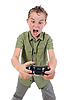 ID 3021979   Funny boy with joystick   High resolution stock photo   CLIPARTO