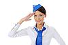 ID 3021987 | Atrakcyjna stewardesa | Foto stockowe wysokiej rozdzielczości | KLIPARTO