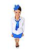 ID 3021989 | Atrakcyjna stewardesa | Foto stockowe wysokiej rozdzielczości | KLIPARTO