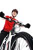 ID 3022051 | Portrait of cyclist | High resolution stock photo | CLIPARTO