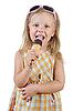 Photo 300 DPI: child eating ice cream