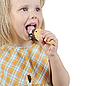 Photo 300 DPI: girl eating ice cream.