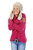 Kobieta w stylu zimowych | Stock Foto
