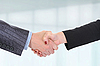 Handshake of business partners | Stock Foto