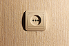 ID 3022804 | Wtyczka ściany z ostrym cieniu | Foto stockowe wysokiej rozdzielczości | KLIPARTO