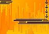 노란색 추상적 인 배경   Stock Vector Graphics