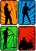 Rock band | Stock Vector Graphics