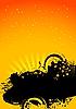 Gelber Sonnerhintergrund | Stock Vektrografik