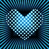 Blue heart | Stock Vector Graphics