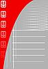 Grauer Hintergrund mit Pfeilen | Stock Vektrografik