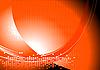 밝은 추상 오렌지 배경 | Stock Vector Graphics
