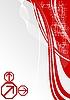 Heller roter Hintergrund | Stock Vektrografik