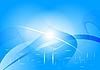 ID 3023001 | Blauer abstrakter Hintergrund | Stock Vektorgrafik | CLIPARTO