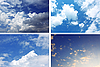Photo 300 DPI: Sky backgrounds collection