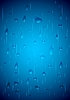 Vector clipart: Water drops