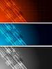 Vector clipart: Tech banners
