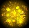 Dark yellow vibrant background   Stock Vector Graphics