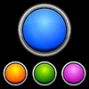 Vector clipart: glossy web buttons