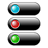 Векторный клипарт: веб кнопки