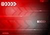 빨간색 기술적 배경 | Stock Vector Graphics