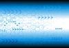 Векторный клипарт: синий технический фон