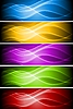 Vector clipart: Set of vibrant banners