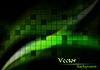 Векторный клипарт: зеленый фон с квадратами