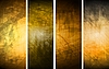 textural backgrounds set