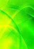 Векторный клипарт: Яркая зеленая абстракция