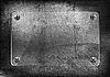 Векторный клипарт: Старая стена и стеклянная рамка
