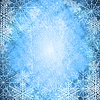 Vector clipart: Christmas blue design