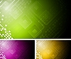 Vector clipart: Abstract technical design