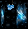 Vector clipart: Abstract x-mas design