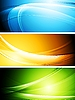 Vector clipart: Colourful banners
