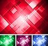 Vector clipart: Colorful technical designы