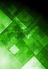 Векторный клипарт: Технический зеленый фон