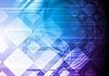 Colorido fondo de alta tecnología | Ilustración vectorial
