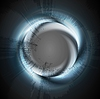 glänzender abstrakter Ring