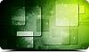 Vector clipart: Green tech design