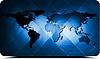 ID 3313810 | World map design | Stock Vector Graphics | CLIPARTO